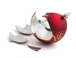 broken ornament